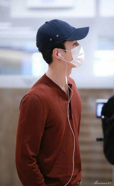 Sehun, Exo, Korean Airport Fashion, Airport Style, Lord, Incheon, Vmin, Fanart, Babe