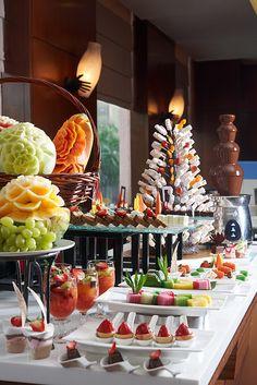 Beautiful Fruits & Desserts Table