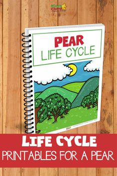 Pear lifecycle activities for STEM plany learning fun for your kids Stem Science, Science Experiments Kids, Science For Kids, Stem Activities, Activities For Kids, Biology Lessons, Kids Learning, Stem Learning, Nature Study