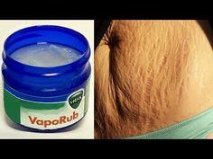 Crema para Quemar Grasa del Abdomen y Cintura a base de Vicks Vaporub - YouTube