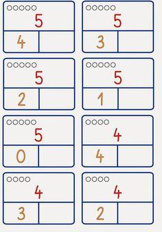 Zahlzerlegung nur bis 6 – Rebel Without Applause Montessori Math, Math For Kids, Numeracy, Kindergarten Math, Ms Gs, Math Activities, Worksheets, Teaching, Blog