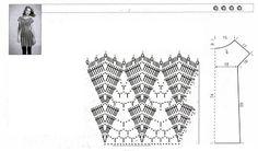 Delicadezas en crochet Gabriela: Vestido y pullover