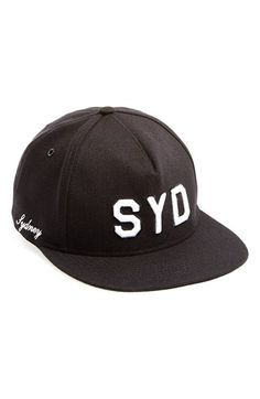 Men s PUBLISH BRAND  Sydney  Snapback Cap - Black 10bcbb012e5