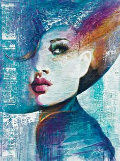 "Saatchi Online Artist Colin Staples Life Art; Painting, ""Angie"" #art"