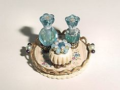 dollhouse miniature vanity accessories