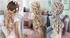 Ullyana Aster Long Wedding Hairstyles