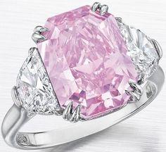 http://rubies.work/0232-ruby-rings/ Rosamaria G Frangini | High Pink Jewellery | Pink Diamond Ring