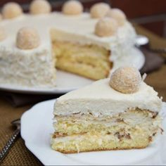 Torta Raffaello