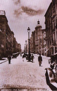LEBANON, BEIRUT, Allenby street