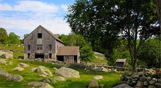 The large clapboard barn on Wehpittituck Farm in Mystic. Harold Hanka / The Westerly Sun