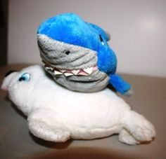 "STUFFED SHARK & SEAL 8"" SET for Infants & Children Washable Plush by PRINCESS SOFT TOYS. $10.99. PRINCESS SOFT TOYS IS ONE OF THE LEADING MANUFACTURING COMPANIES IN SOFT, SAFE PLUSH ANIMALS. SAFE FOR A NEWBORN, OR CUDDLY FOR A TODDLER OR A YOUNG CHILD. GREAT FOR IMAGINARY PLAY. QUALITY DESIGNS, FABRIC & MATERIALS THROUGHOUT NON-TOXIC, NON-ALLERGENIC, POLYFIBER FILLED. WASHABLE & SAFE FOR ALL AGES CARE INSTRUCTIONS: REMOVE TAGS, MACHINE WASH & DRY (USE MESH BAG & COLD WAT..."