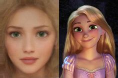 What Would Disney Characters Look Like as Actual People? Here's Your Answer - Rapunzel Disney Characters As Humans, Animated Disney Characters, Real Life Rapunzel, Rapunzel And Eugene, Disney Tangled, Disney Fun, Disney Princess, Tangled Rapunzel, Images Disney