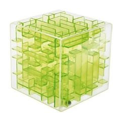 Green Maze Magic Cube Puzzle Mini Speed Cube Labyrinth Rolling Ball Toys Puzzle Game Cubos Magicos Learning Toys For Chilren Merry Chritsmas, Cubes, Puzzle Logo, 3d Maze, Labyrinth Game, Maze Puzzles, Magic Squares, Cube Toy, Fidget Cube