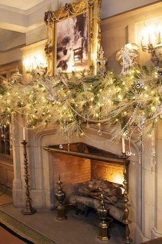 35 Navidad hermosa Mantels - Estilo Dominio - - Decoración de Navidad