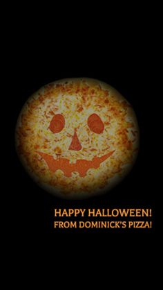 Pizza and halloween