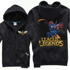 League of Legends Mecha Kha'Zix skin hoodie for men plus size long sleeve sweatshirt