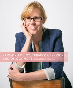 Everything you need to know about Privacy Policy, Terms of Service and Disclaimers | online business tips | blogging tips