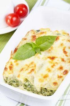 Gluten Free Canneloni with Fresh Pasta