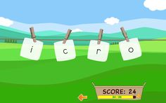 Dezol.com's Letter Name Recognition Game: This game helps you recognize letter names. You can study lowercase letters, capital letters, or both. Just select which ones you would like to study and press play.  The game will show four random letters and ask you to pick one by its letter name.  You earn a point for each one you get right and it will give you more practice on letters you have trouble with.