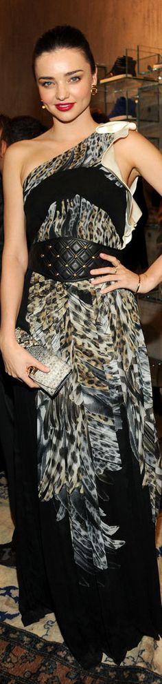 Miranda Kerr in Leopard Print