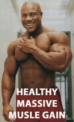 HEALTHY MASSIVE MUSCLE GAIN How to build muscle mass at the foundation while keeping your health.