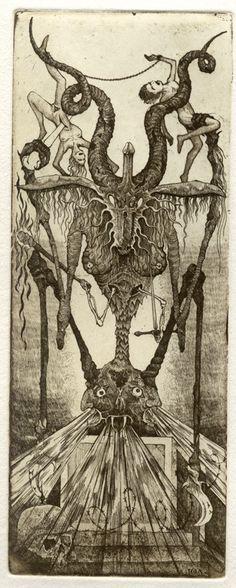 Iona Tarot 15 - Der Teufel