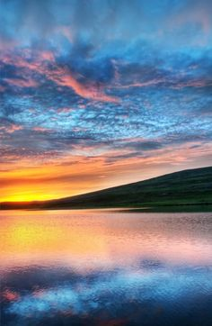 Trey Ratcliff •   A lonely lake on the way to the fjords...