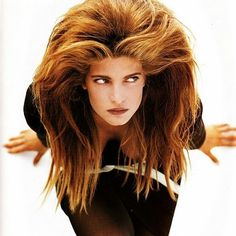 #eighties is all about #bighair !  #80s #Vogue #stephanieseymour  @Regrann from @doubledenimdays -  Vogue (UK) November 1988   Stephanie Seymour by Herb Ritts #80s #fashion #80sfashion #1988 #stephanieseymour #supermodel #herbritts #vintage #vintagemagazine #vogue #vogueuk #doubledenimdays - #regrann