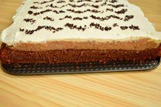 Brownie cu cremă de mere și frișcă Bacon, Cheesecake, Cakes, Desserts, Food, Pies, Sweets, Tailgate Desserts, Deserts