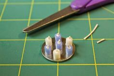 how to: miniature candles                                                                                                                                                                                 More