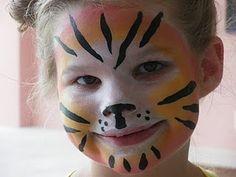 Tiger facepaint                                                                                                                                                                                 More