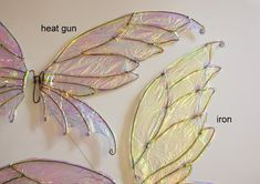 How to Make DIY Fairy Wings with Cellophane, an Easy to Follow Tutorial -