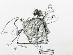Omg this was drawn by CONAN GREY ❤️❤️