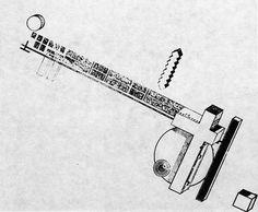 Film Studio Project. Architect Ivan Leonidov, 1929.
