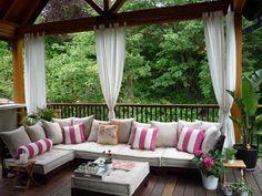 Cláudia Camargo Interiores: Ideias de decoração para a varanda