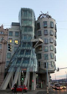 Dancing House (aka Fred and Ginger), Prague, Czech Republic