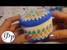 Вязание круга без петель подъема. Вязание бисером. Урок 10. - YouTube