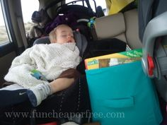 How to survive a 12-hr road trip with two babies by yourself...roadtrip tricks, tips, and creative ideas!