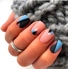 Top Stunning Blue Nail Designs Spring 2020 – Page 27 – Small Flash nails coffin Cute Acrylic Nails, Acrylic Nail Designs, Nail Art Designs, Gel Nails, Nail Polish, Coffin Nails, Nails Design, Shellac Nail Designs, Square Nail Designs