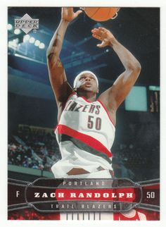 Zach Randolph # 160 - 2004-05 Upper Deck Basketball
