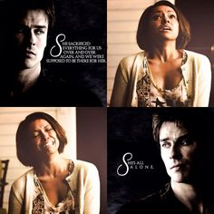 "#TVD 6x09 ""Alone"" - Damon and Bonnie"