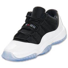 super popular 751c5 b0f34 Boys  Grade School Air Jordan Retro 11 Low Basketball Shoes - 528896 110    Finish