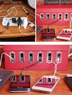Turn a Shoebox into a Recharge Station in 30 mins | Click Pic for 25 Simple Life Hacks Every Girl Should Know | Household Tips and Tricks for Life