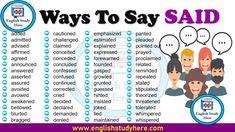 Different Ways to Say Beautiful - English Study Here English Writing, English Study, English Words, English Grammar, Learn English, English Language, Ways To Say Said, Other Ways To Say, Writing Words