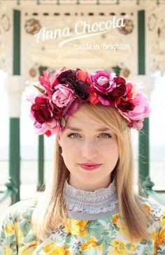 Frida Folk Flower Crown - Anna Chocola® 2014