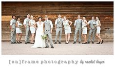 wedding party; arizona wedding photography