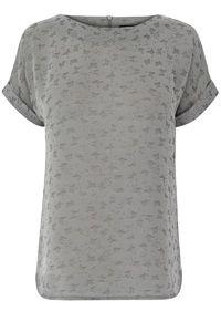 Butterfly Jacquard T-shirt