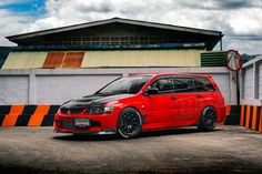 Mitsubishi evo ix wagon work emotion wheels
