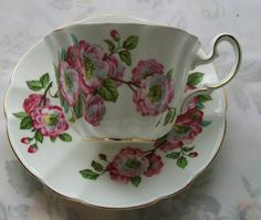 Vintage Adderley teacup china teacup vintage by NewtoUVintage