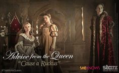 Love advice from  The White Queen : Weathering the storm
